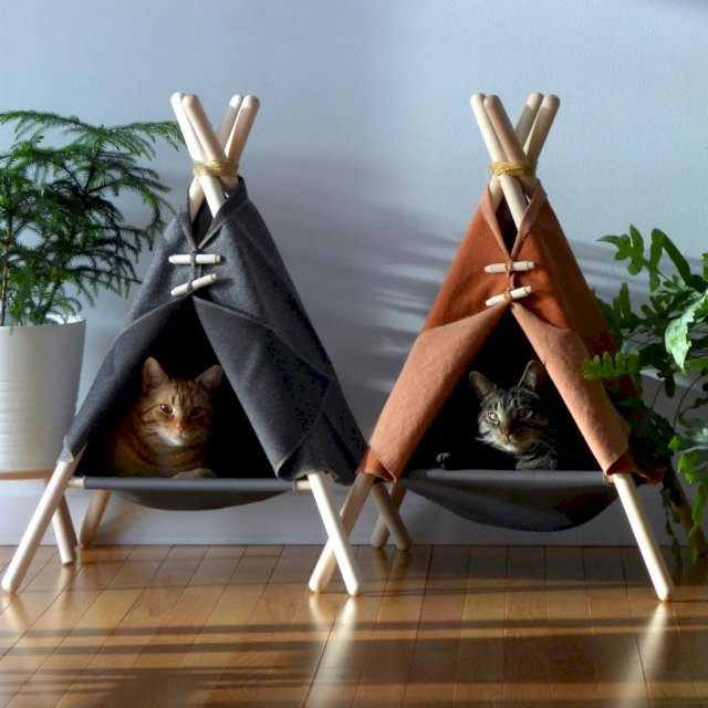 Adventure Tent – One Seriously Purrfect Cat Bed – Only at Tinker